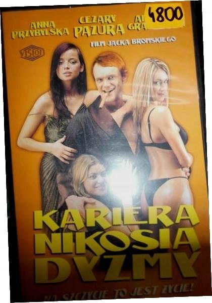 Kariera Nikosia Dyzmy - VHS kaseta video