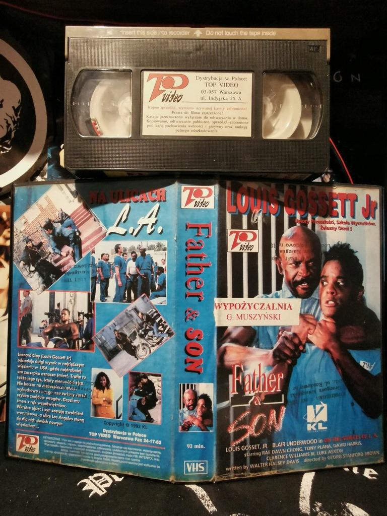 Na ulicach LA VHS Top Video