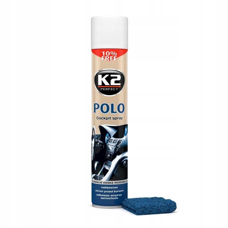 K2 POLO COCKPIT DO KOKPITU PLAK 750ML