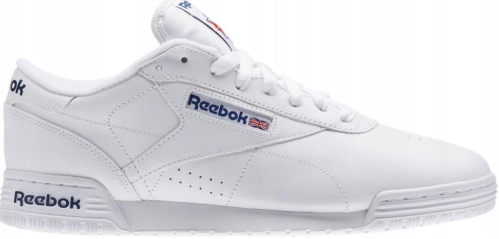 Buty Męskie Sportowe Reebok EX O FIT Hi Białe r.45