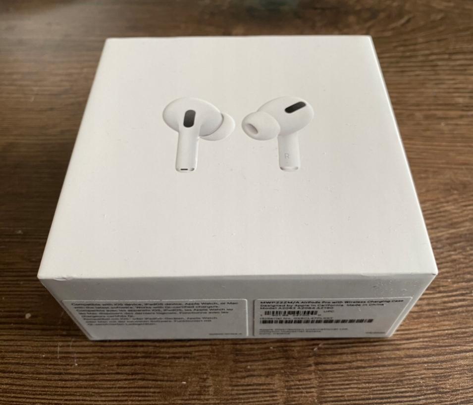 Słuchawki Apple AirPods Pro Bluetooth dokanałowe