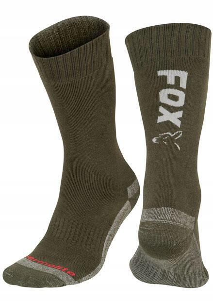 Skarpety Fox Green/Silver Thermo Sock 44-47 CFW119