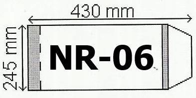 Okładka na podr B5 regulowana nr 6 (50szt) NARNIA