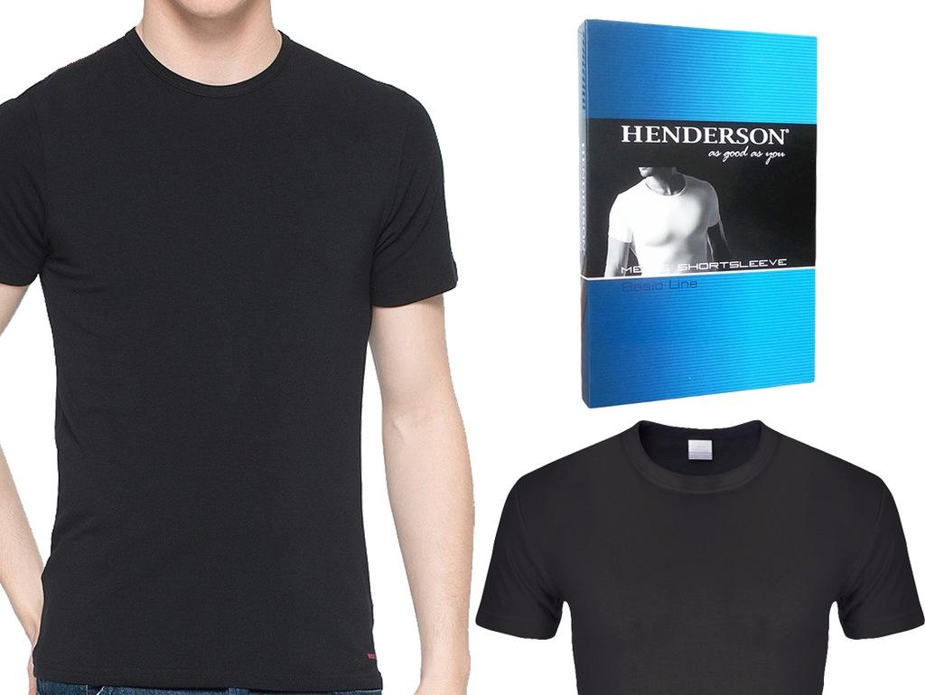 Koszulka T-Shirt K1 Henderson BASIC czarny XXL