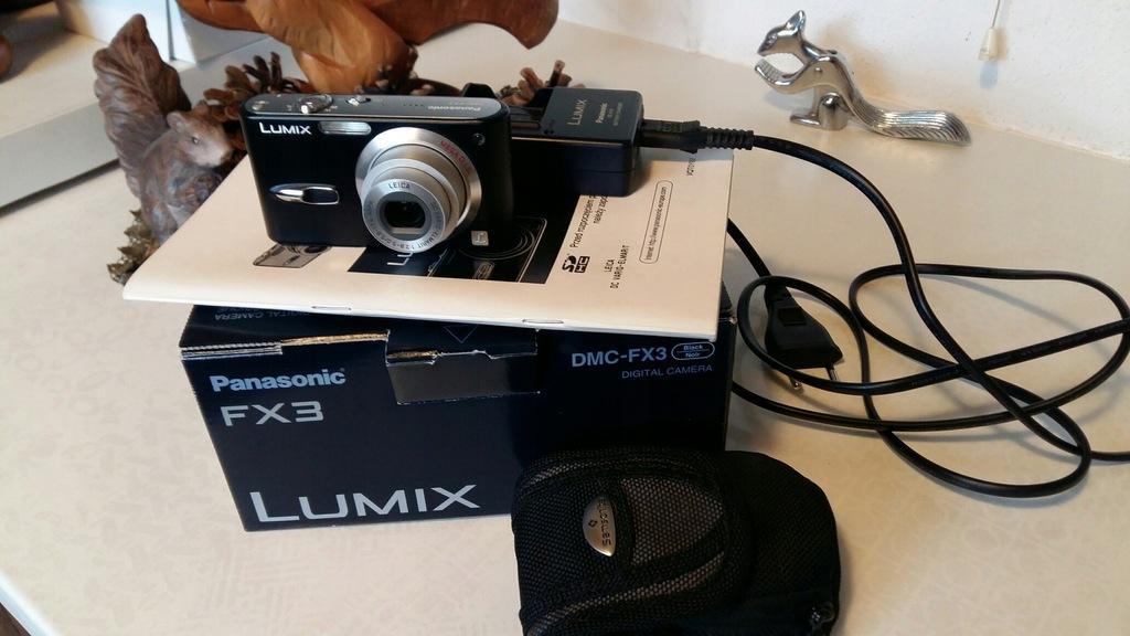 APARAT PANASONIC LUMIX DMC-FX3 IDEALNY NA PREZENT!