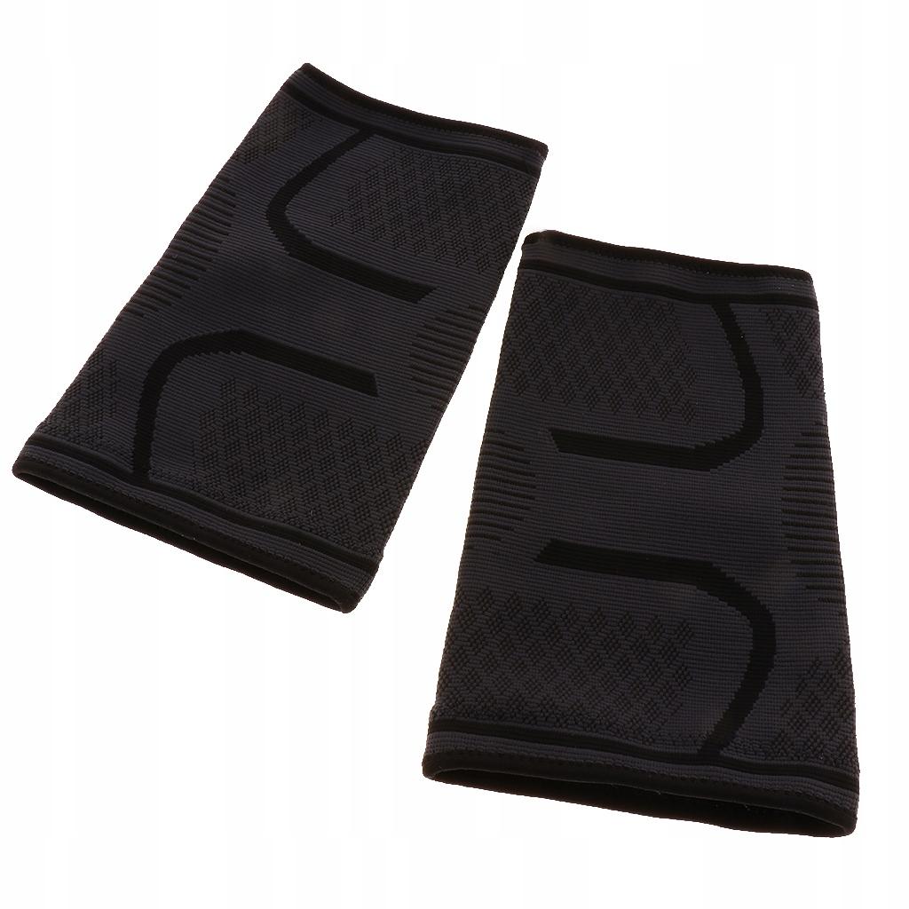 1 para rękawów kolanowych - Czarny XL