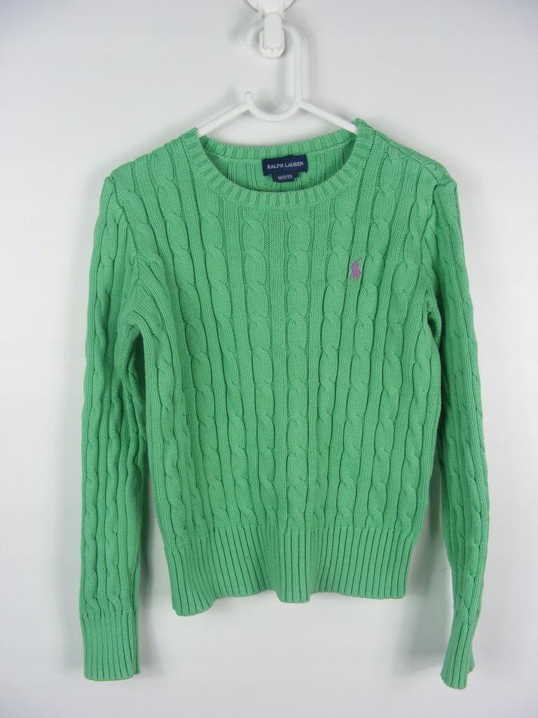 RALPH LAUREN sweter wzór warkocz 8-10 lat