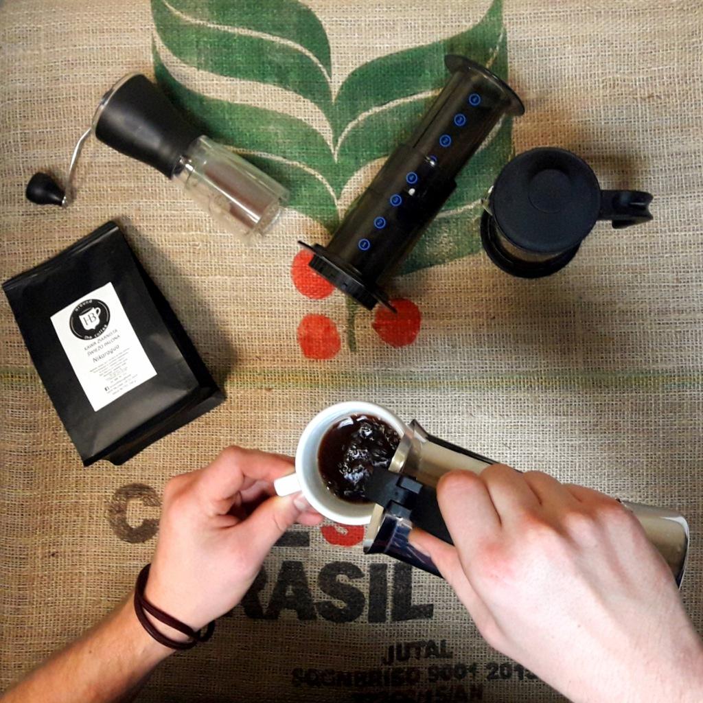 Szkolenie Home Barista - jak lepiej parzyć kawę