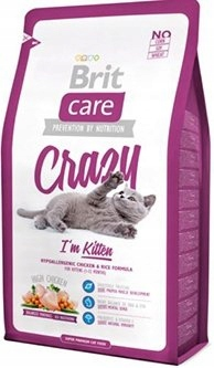 USZKODZONY BRIT CARE CAT CRAZY IM KITTEN 2kg