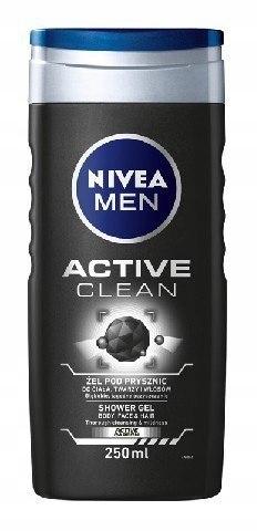 Nivea Men Żel pod prysznic Active Clean 250ml