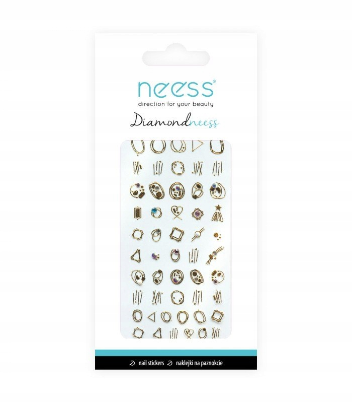 NEESS Naklejka na paznokcie Diamondneess (3713) 1s