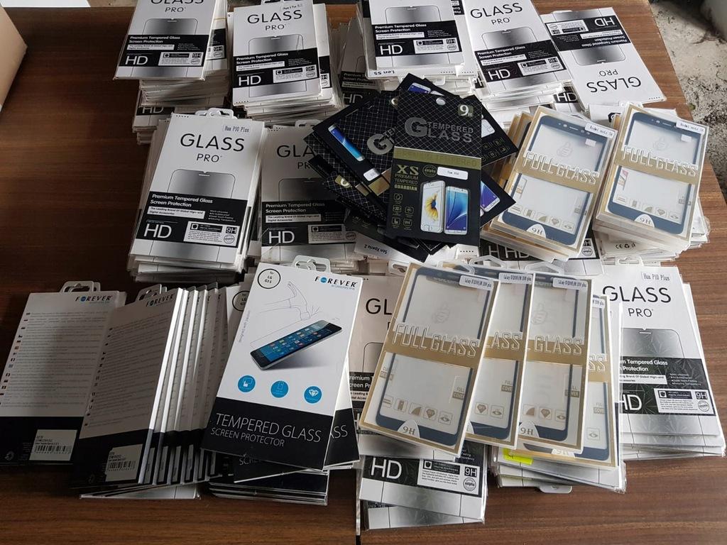 szkła hartowane na telefon 250 sztuk pakiet nr 1