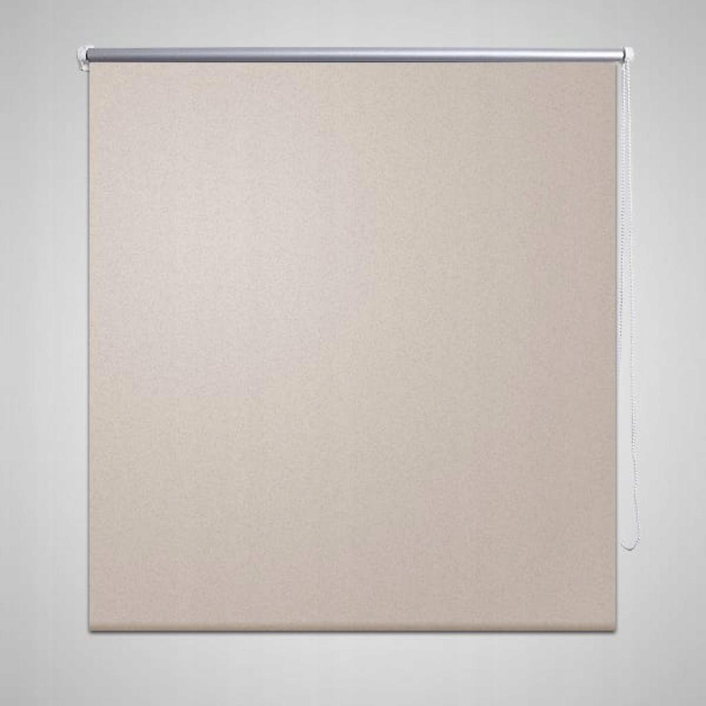 Roleta przeciwsłoneczna 60 x 120 cm Beżowa