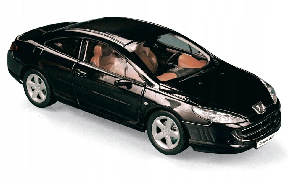 Peugeot 407 Coupe 1 18 Norev 184752 7881745782 Oficjalne Archiwum Allegro