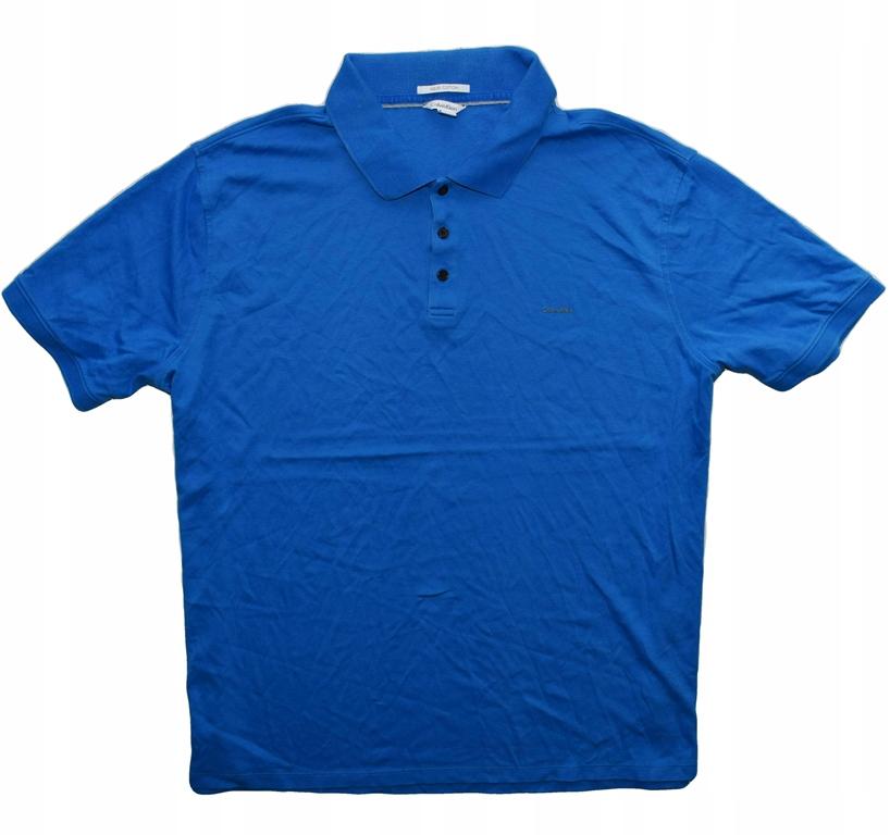 Calvin Klein XXL koszulka polo bawełniana klasyk