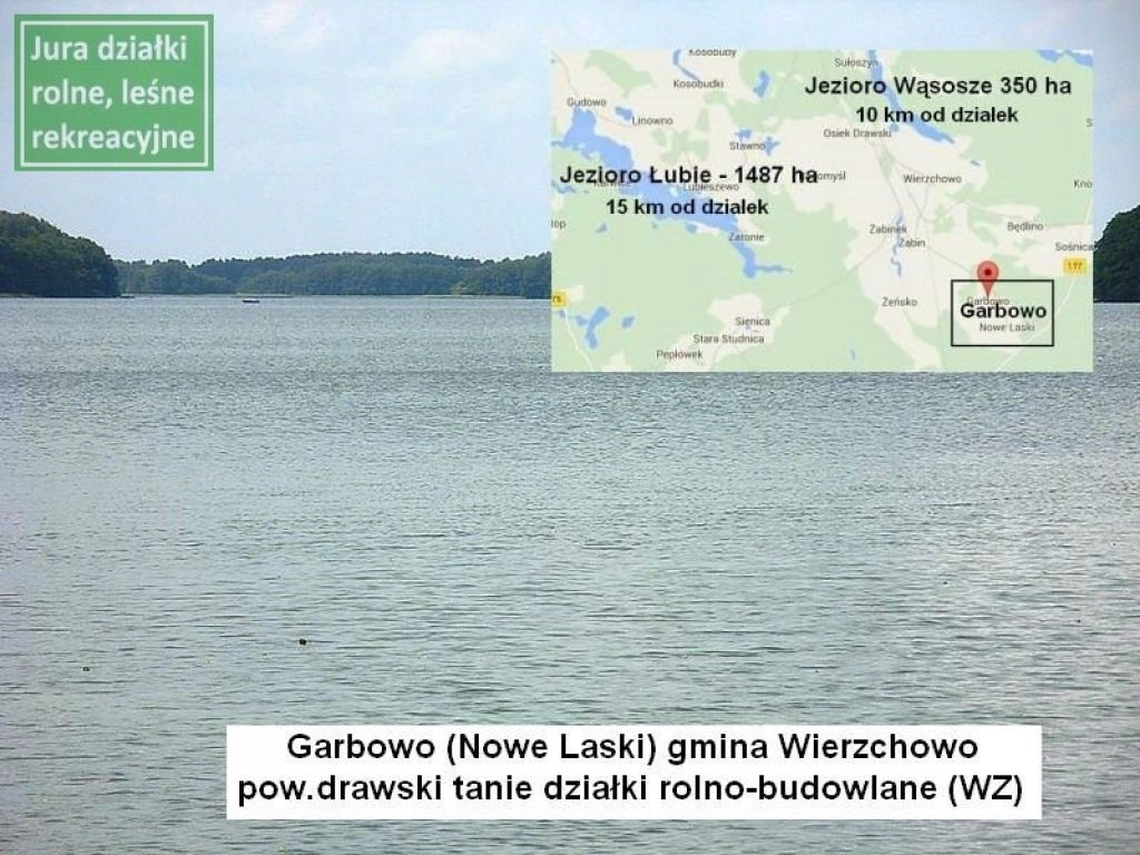 Działka, Nowe Laski, Wierzchowo (gm.), 1152 m²