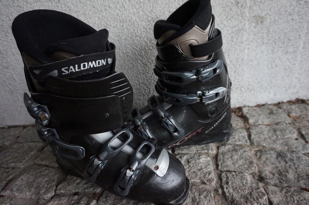Buty narcciarskie salomon performa 5.0 black Galeria zdjęć