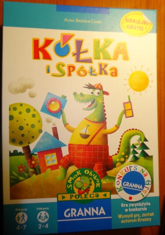 Gra Kółka i spółka 4-7 lat GRANNA jak NOWA