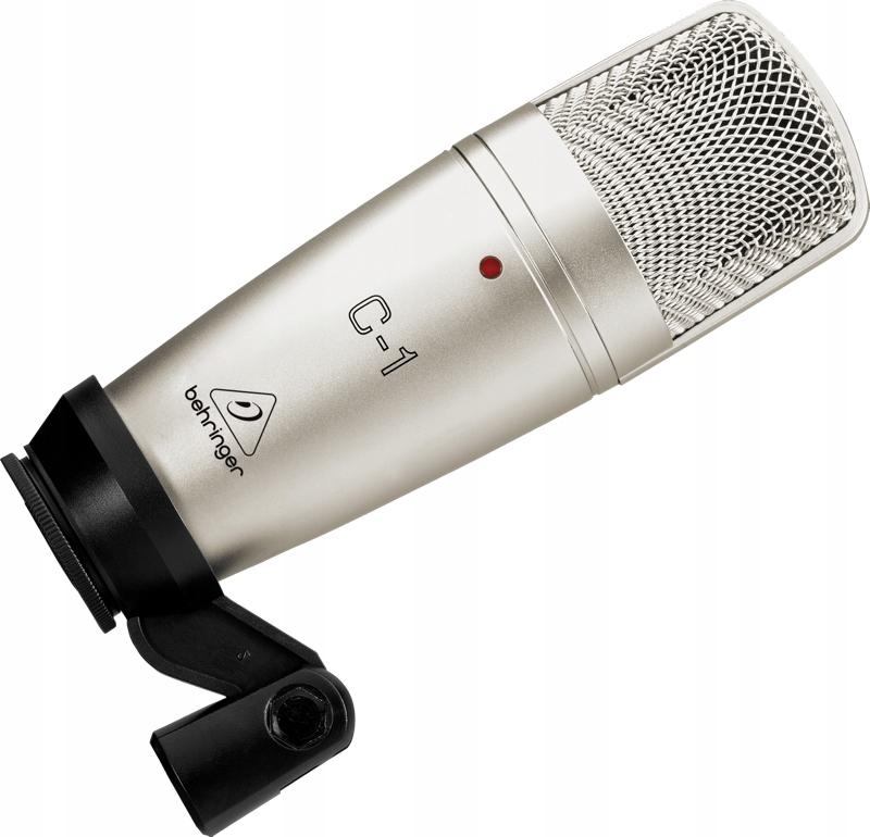 Behringer C-1 Studyjny mikrofon pojemnościowy