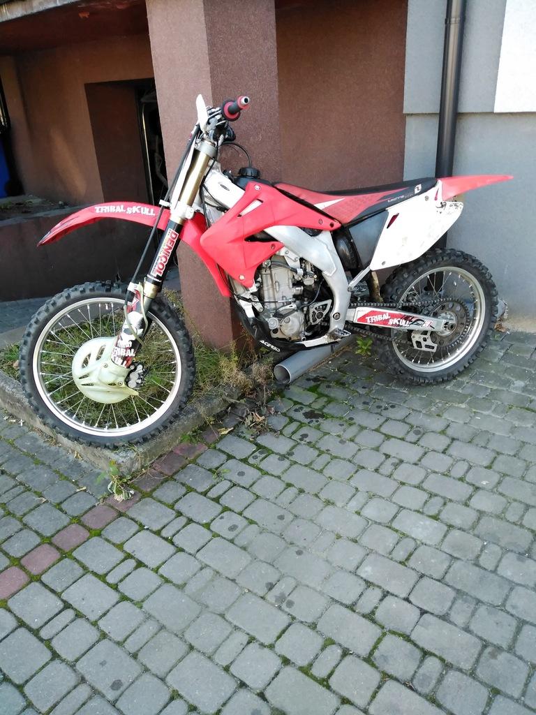 Honda Crf 450 8553828822 Oficjalne Archiwum Allegro