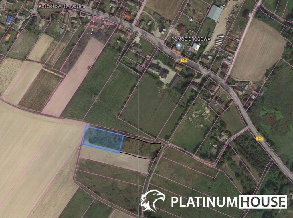 Działka, Strzelce, Dobroszyce (gm.), 3700 m²