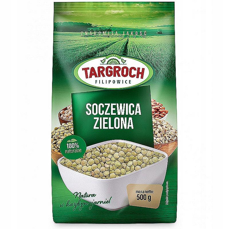 Soczewica Zielona 500g TARGROCH