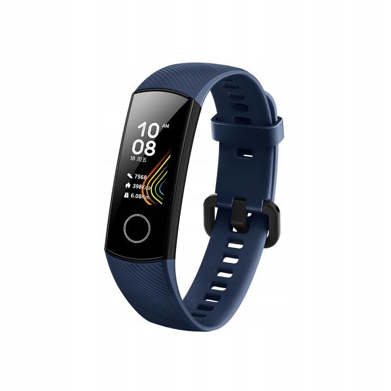 Huawei Honor Band 5 Smartband Opaska Niebieski