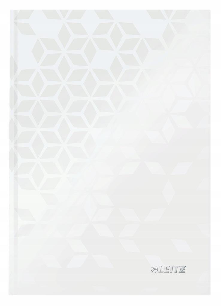 Brulion Leitz Wow A5/80 kratka biały 46281101