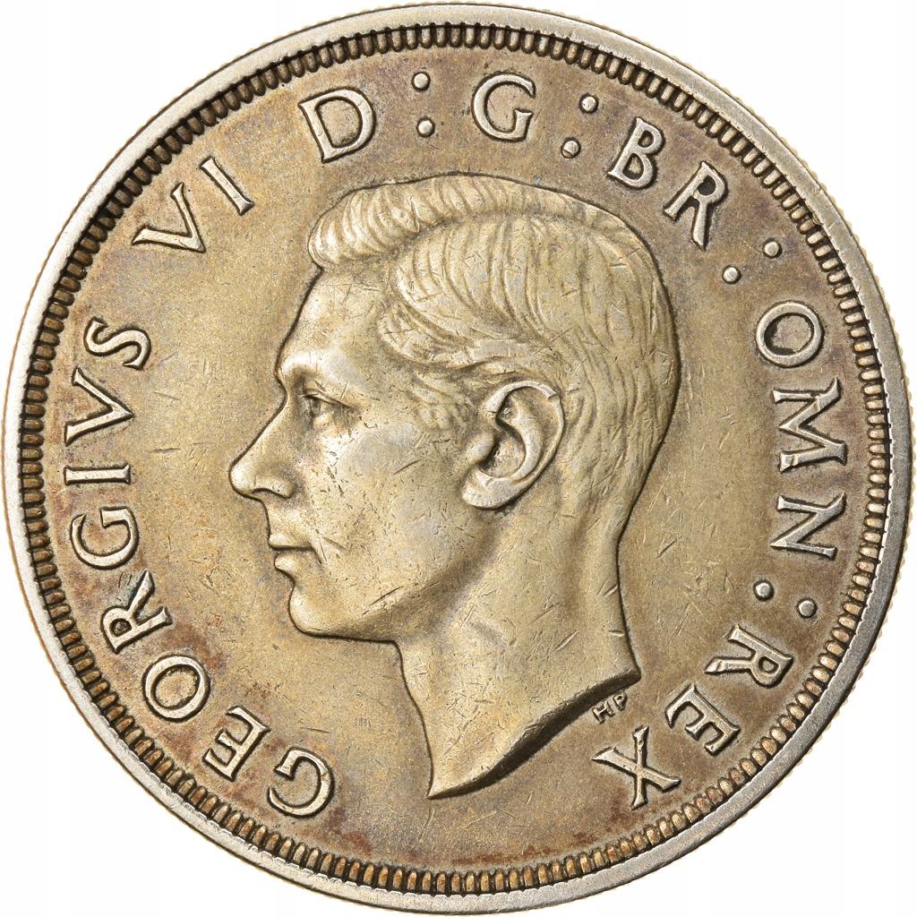 Moneta, Wielka Brytania, George VI, Crown, 1937, E