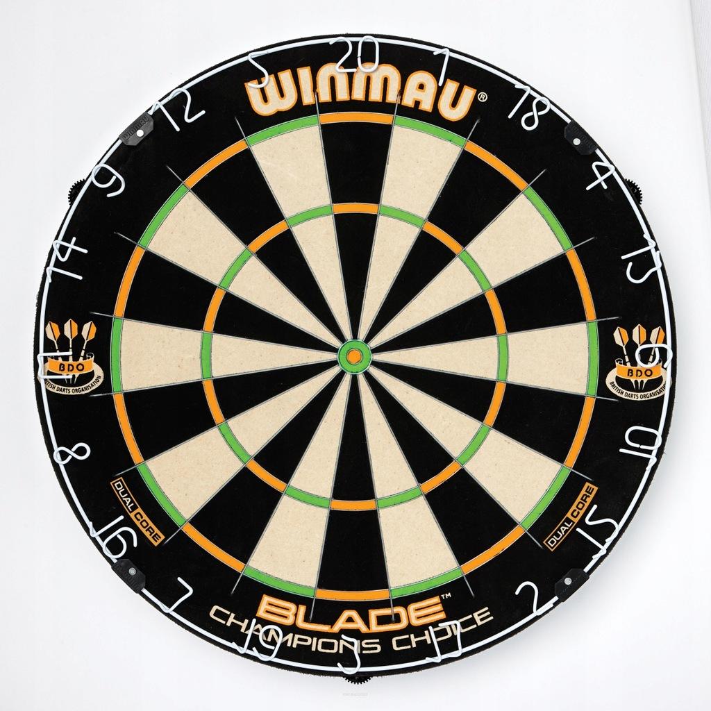 Tarcza dart sizalowa BLADE 5 CHAMP. C. powystawowa