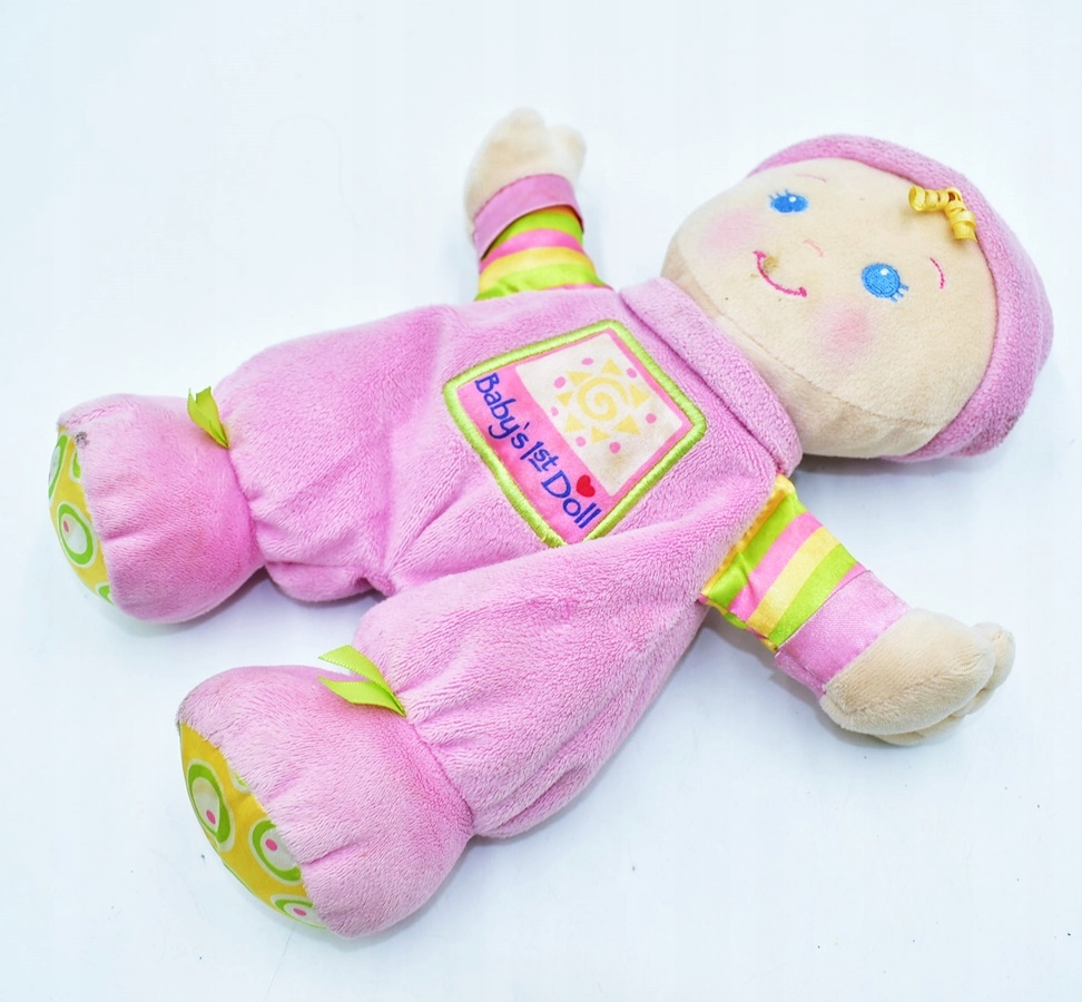 6426-73 .FISHER PRICE BABY'S 1ST DOLL... d#k LALKA