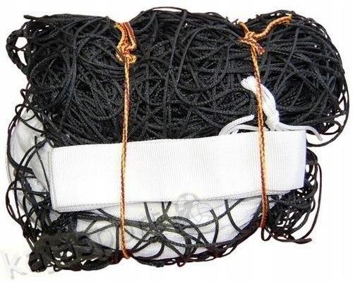 Siatka do siatkówki z antenką Domeks czarna stalow