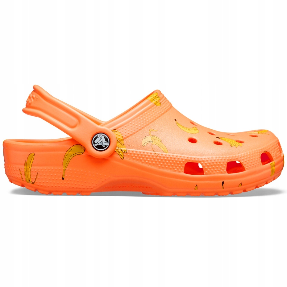 Crocs dla dzieci Classic Vacay Vibes Clog pomarańc