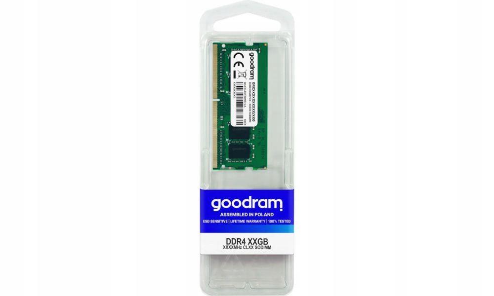 Pamięć RAM DDR4 SODIMM Goodram 8GB 3200MHz CL22