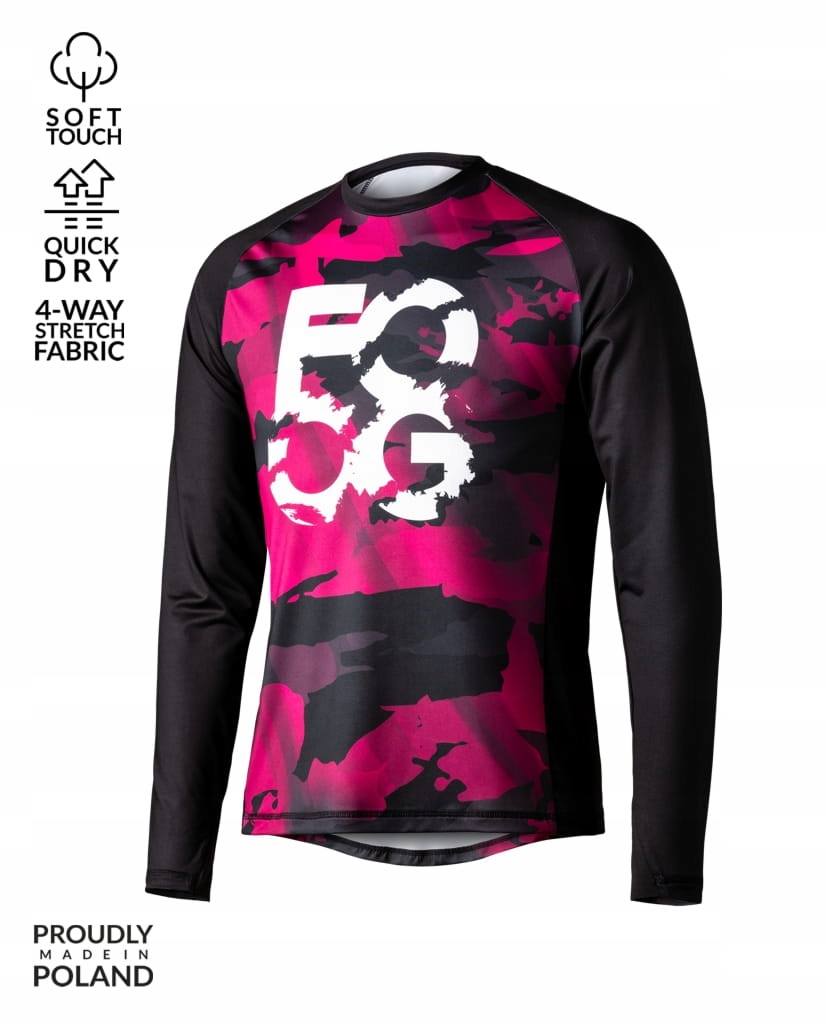 Jersey bluza rowerowa FOOG GRUNT camo S damska