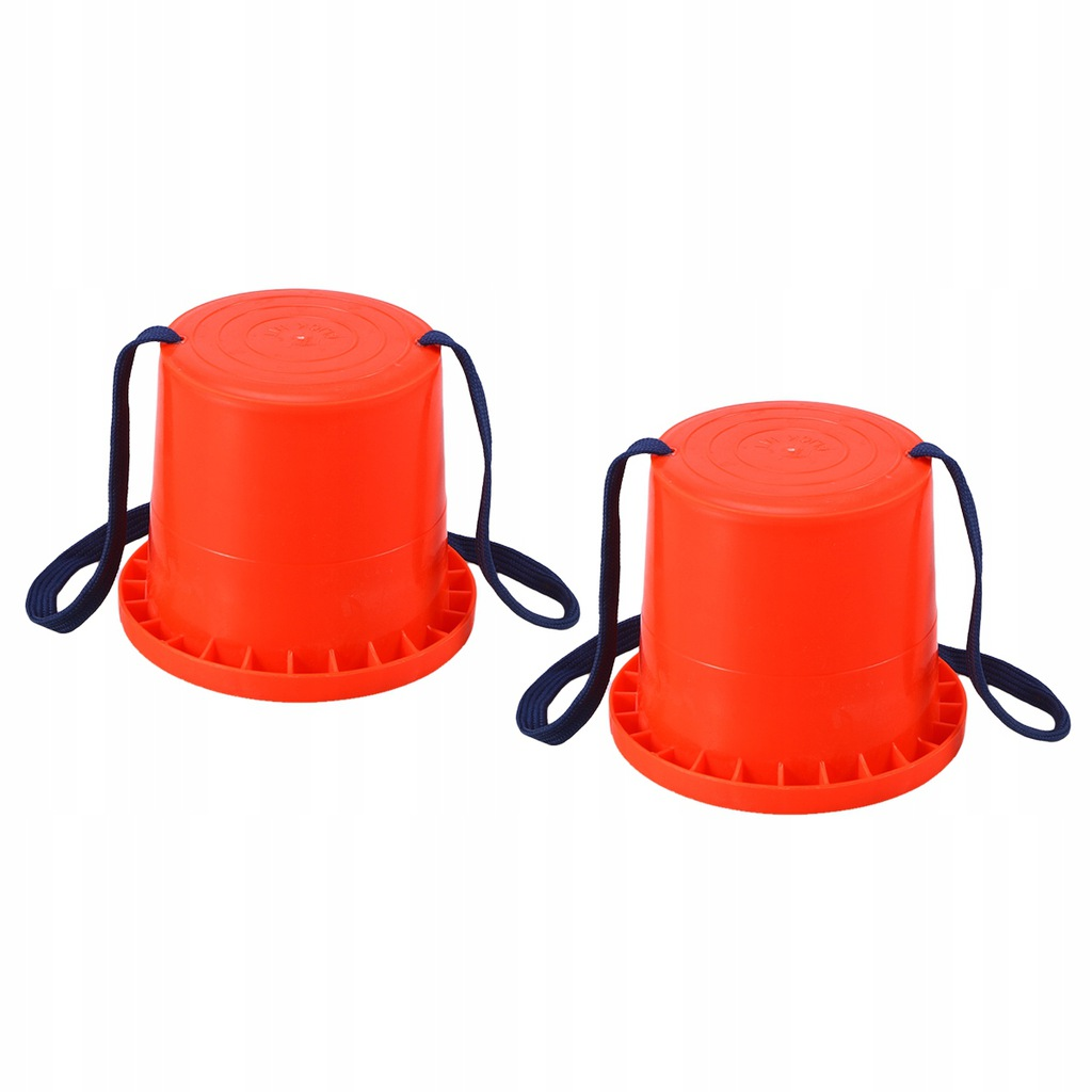 Para plastikowych balansów treningowych Skoki na p
