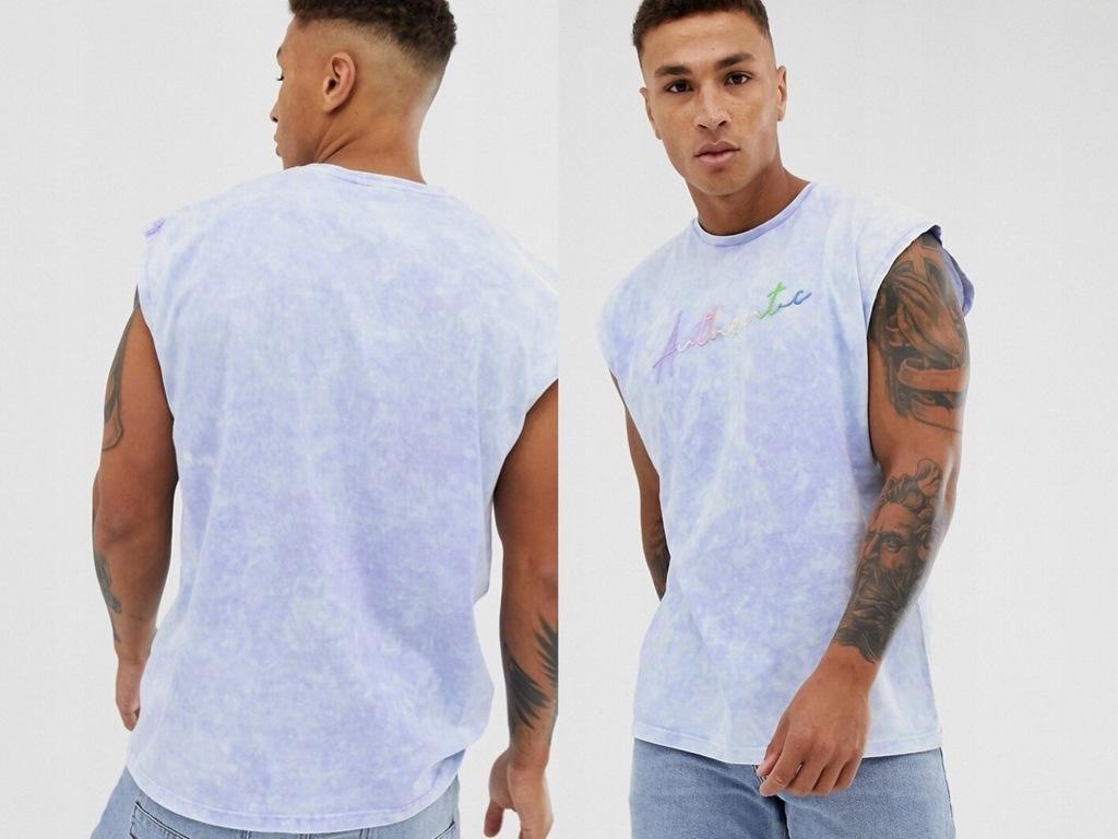 DESIGN - koszulka bez rękawów z nadrukiem 2XL