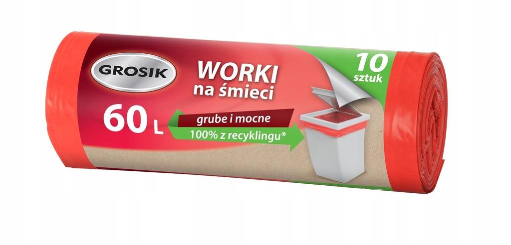 Sarantis Jan Niezbędny Grosik Worki na śmieci LD 6