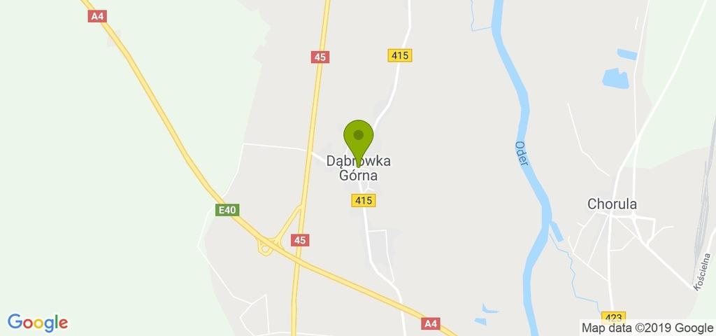 Działka Dąbrówka Górna, krapkowicki, 1012,00 m²