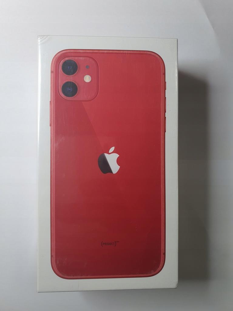 APPLE IPHONE 11 128GB RED CZERWONY KRAKÓW
