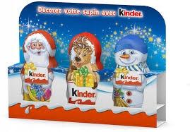 Kinder Suprise świąteczne figurki czekoladki 3x15g