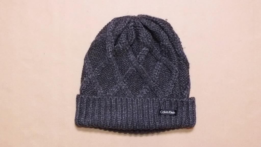CALVIN KLEIN czapka na zimę