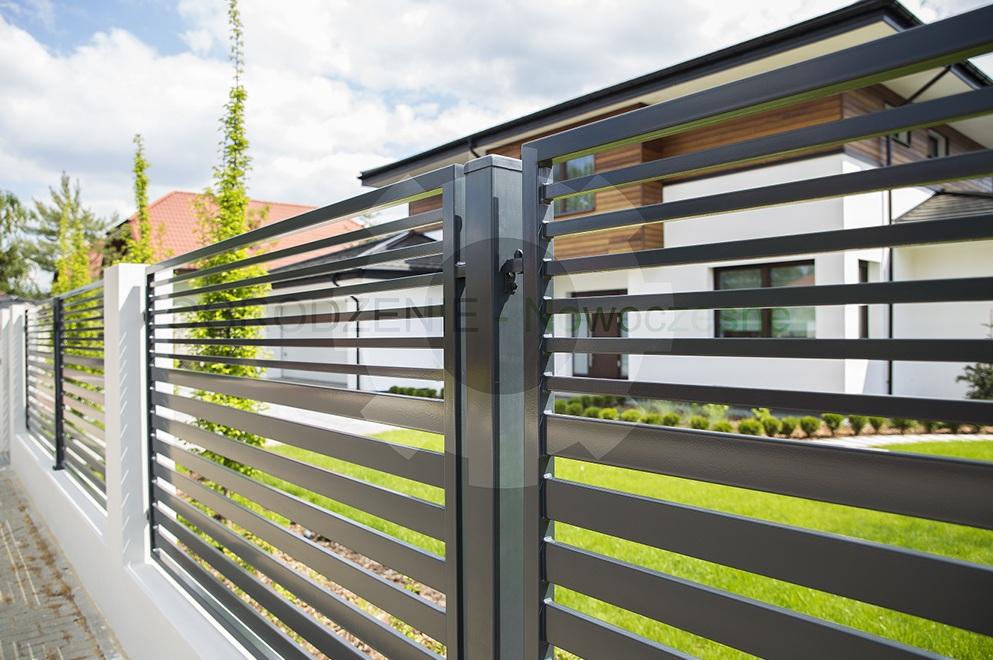 Przęsło ogrodzeniowe nowoczesny panel ogrodzeniowy