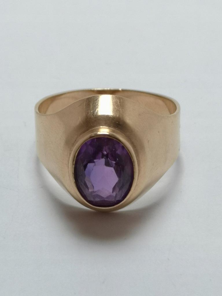 Złoty pierścionek p.585 5,35g r.20