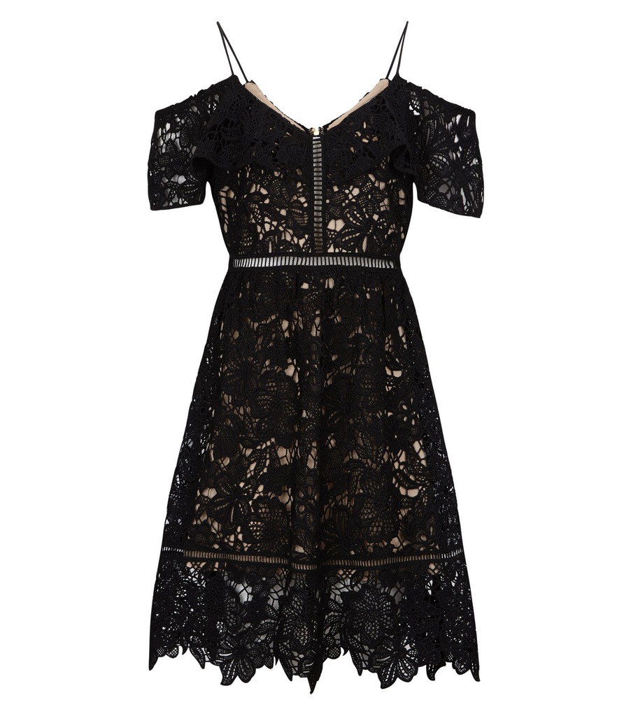 Sukienka New Look Premium r38 koronka gipiura haft