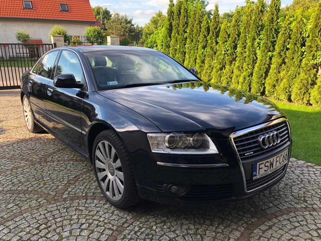 Audi A8 D3 4 2 Tdi Quattro Ideal 140 Tys Przebieg 8149061706 Oficjalne Archiwum Allegro