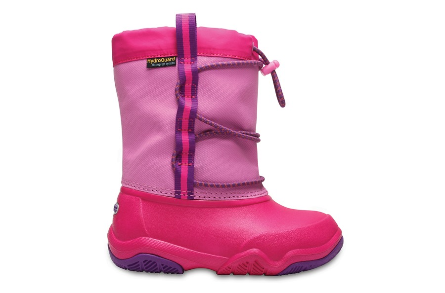 ŚNIEGOWCE CROCS SWIFTWATER 204657 PARTY PINK 34,5