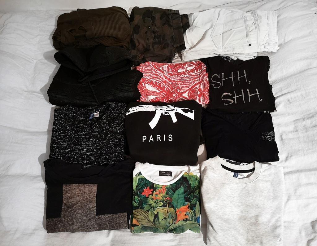 Markowe bluzy oraz koszulki Komplet