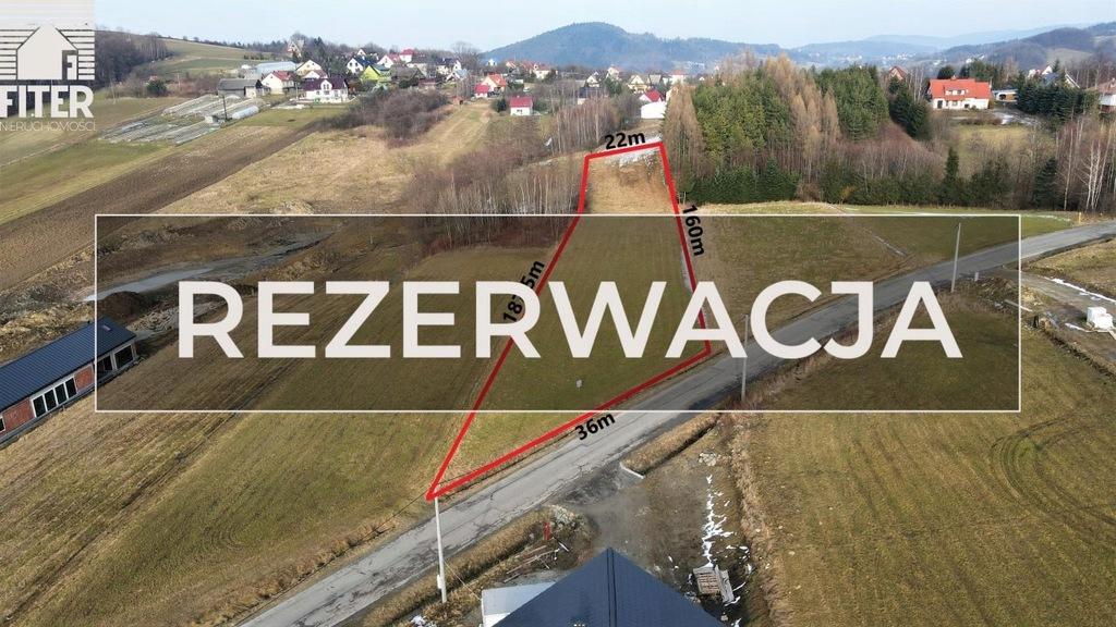 Działka, Żegocina, Żegocina (gm.), 3800 m²
