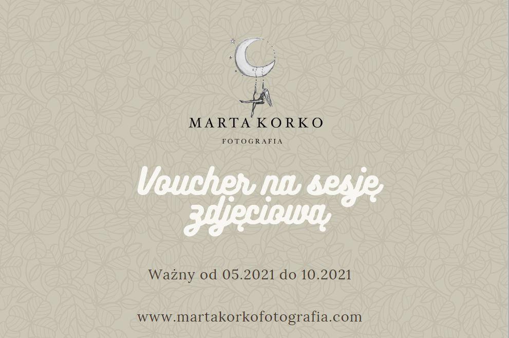 Voucher SESJA ZDJĘCIOWA MARTA KORKO SZTAB 887